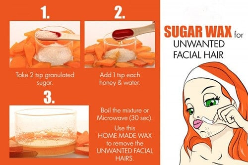 Clean The Fluff With Sugar