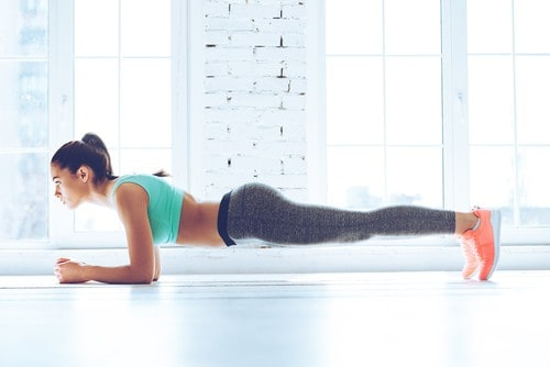Plank is a Useful Hand Fat Reduction Exercise