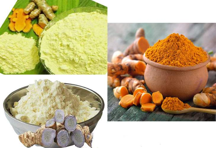 Choose the Appropriate Turmeric Starches